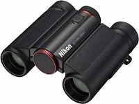 Nikon Anti-Vibration Binoculars 10 x 25 STABILIZED Red STB10X25RD New in Box
