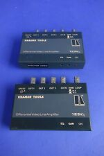 Lot of 3 Kramer Differential Video Line Amplifier 123Vxl