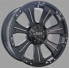 16X8 TUFF AT T06 Black Wheel Rim HILUX RANGER TRITON COLORADO BT50 DMAX PATROL