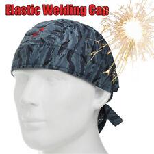 Universal Welding Welder Flame Retardant Hat Cap Scarf Helmet Head Protection