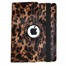 iPad 2/3/4 2nd/3rd/4th 360 Rotating Magnetic PU Leather Case Smart Cover Stand