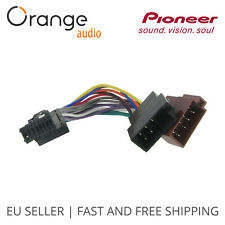 Pioneer Old 16 Pin to ISO Lead Wiring Loom Power Adaptor Wire Radio Connector