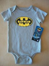 DC Comics Batman Baby 18 Months One-Piece Outfit, 100% Cotton, NEW WITH TAGS!!!
