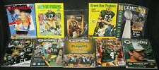 1970's to 2000's Green Bay Packers Football Programs Media Guide Aaron Rodgers