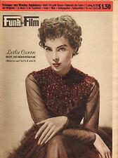 FUNK UND FILM 1955 nr. 29 - LESLIE CARON/JULIE HARIS/MARTINE CAROL/VICO TORRIAN0