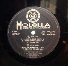 DISCO 33 GIRI - MOLELLA originale - radicale - musicale C/D