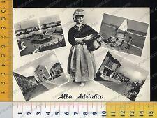 39738] TERAMO - ALBA ADRIATICA - VEDUTE E COSTUME _ 1959
