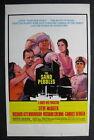 THE SAND PEBBLES 1966 Steve McQueen movie poster window card Attenborough Bergen