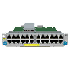 HP (J9534A) 24-PORT GIG-T PO24-Ports Plug-in Module Ethernet Switch  PROCURVE