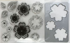 Unbranded Flowers Rubber Stamps