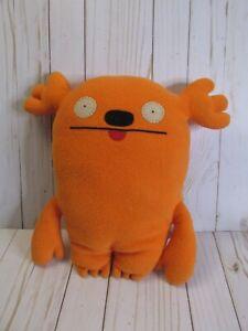 "D2 Ugly Doll MRS. KASOOGI Orange 13"" Plush Pillow Stuffed Toy Uglydoll"