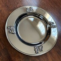 Vintage Silver Plated / Godinger / Child's Teddy Bear / Recessed Plate - Bowl