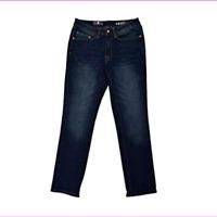 Izod Men's Comfort Sits Below Waist Slim Fit Stretch Straight Leg Jeans