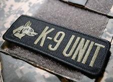 NATO ISAF JSOC JTF BATTLE TESTED ELITE SPECIAL WARFARE EOD TEAM SSI: K-9 UNIT