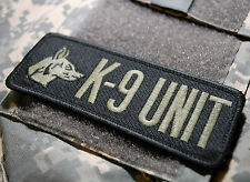 NATO ISAF JSOC JTF BATTLE TESTED SPECIAL WARFARE EOD TEAM velkrö PATCH: K-9 UNIT