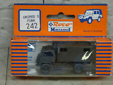 Roco / Herpa Minitanks (NEW) Modern West German Unimog S Troop Truck Lot #607