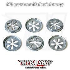 10x Metall Motor Abdeckung Klemmscheibe Ø 22m Clips für VW W703505 867863849A