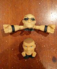 WWE Mashems The Rock & Randy Orton Figure Lot WWF WCW ECW TNA NXT Fist Flyers