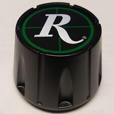 REMINGTON ATV Wheel CENTER CAP BLACK / Green Custom Wheel Caps # C-635-1