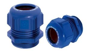 LAPP KABEL CABLE GLAND, ATEX, M20, BLUE, 54115420, Pack Qty 1
