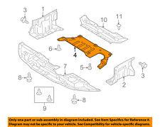 MITSUBISHI OEM 08-10 Lancer Splash Shield-Under Engine / Radiator Cover 5370A311