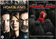 HOMELAND COMPLETE COLLECTION SERIES 1-4 DVD BOXSET SEASON 1 2 3 4 UK Release R2