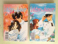 lotto 2 manga valzer in bianco N° 1 e 2 - star comics