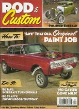 ROD & CUSTOM 2014 FEB - LOUVER MAKING, F-100 GETS FRENCHED DOOR BUTTONS