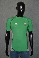Rugby Shirt Wales WRU  Under Armour Size 14-15 Years