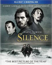 SILENCE (Andrew Garfield) - BLU RAY - Region free - Sealed
