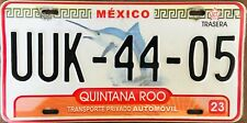 ROO MEXICO License plate Expired Graphic Background  SWORD FISH CANCUN!!!