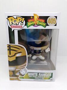 Funko Pop Vinyl - White Ranger - 405 - Power Rangers