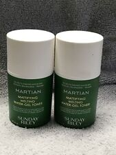 2 Pack Sunday Riley Martian Mattifying Melting Water Gel Toner 1.7oz