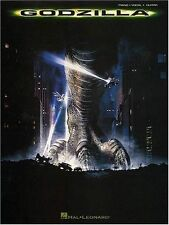 """GODZILLA"" PIANO/VOCAL/GUITAR MUSIC BOOK RARE OUT OF PRINT ON SALE MOVIE NEW!!"