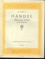 Händel ~ Chaconne G-Dur mit 21 Variationen