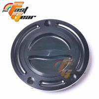 TFG CNC Billet Black Gas Fuel Petrol Cap For Honda VFR 400 1992-1993