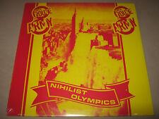 EIGHTH ROUTE ARMY Nihilist Olympics RARE SEALED NEW Vinyl LP 1985 1001 NoCutNoBa
