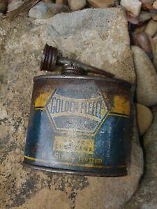 Golden Fleece  Oil Tin grease tin