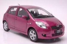Toyota Yaris model in scale 1:18