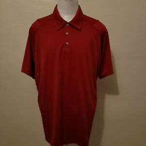 ADIDAS MEN'S CLIMACOOL FORMOTION RED S/S POLO SHIRT SIZE XL