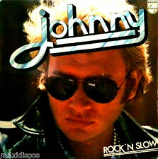 LP - Johnny Hallyday - Rock'N Slow (FIRST PRESS. FRANCE 1974, PHILIPS 6325 170)