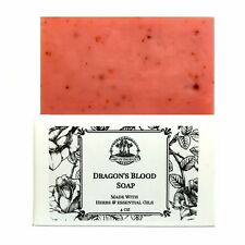 Dragon's Blood Shea Soap Love Protection Power Purification Wicca Pagan Hoodoo