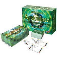 ARTICULATE EXTRA PACK No.1 ORIGINAL 500 NEW CARDS FOR THE ARTICULATE BOARD GAME