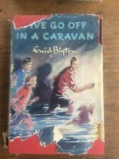 Five Go Off in a Caravan by Enid Blyton 5th Adventure Illustrated Eileen Soper