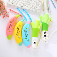 Pencil Case Kawaii Office & School Supplies Cosmetic Pouch Stationery Zipper Bag