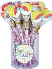 4 UNICORN Animal RUBBER erasers girlS boys  party bag filler toy