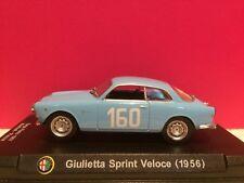Mercure collection échelle 1:43 Alfa Romeo Giulietta Sprint Veloce en bleu