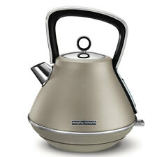 Morphy Richards Evoke 1.5L Pyramid Platinum Stainless Steel Electric Kettle