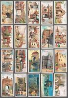 1909 Player's Cigarettes Celebrated Gateways Tobacco Cards Complete Set of 50