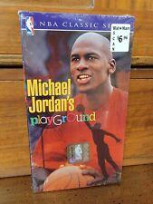 Michael Jordan's Playground (VHS, 1991) BRAND NEW Factory Sealed NBA Bulls